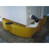 Single effluent tank
